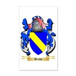 Bruhn 35x21 Wall Decal