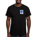 Bruhler Men's Fitted T-Shirt (dark)