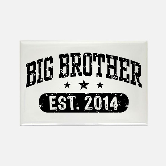 Big Brother Est. 2014 Rectangle Magnet
