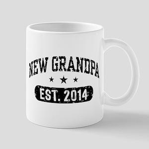 New Grandpa Est. 2014 Mug