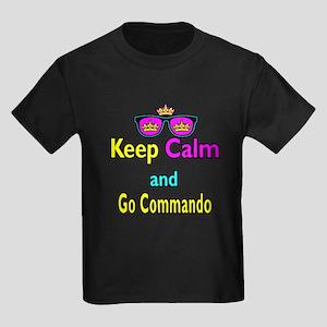 Crown Sunglasses Keep Calm And Go Commando Kids Da