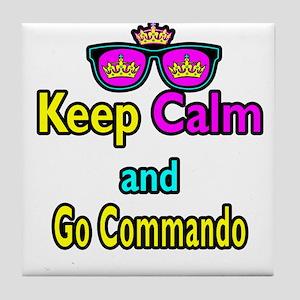 Crown Sunglasses Keep Calm And Go Commando Tile Co