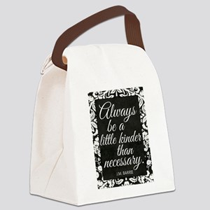 Kindness Canvas Lunch Bag
