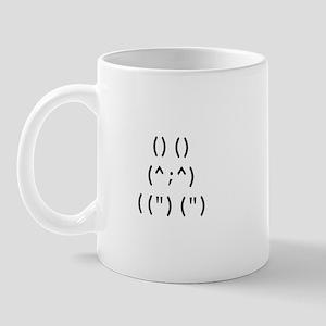 Bunny Text Mug