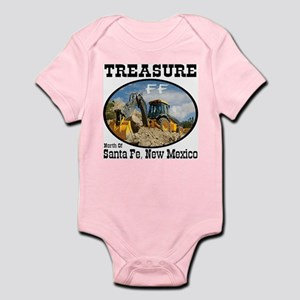 Treasure Hunting With Backhoe Infant Bodysuit
