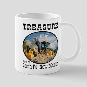 Treasure Hunting With Backhoe Mug