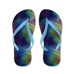 Colorful Vibrations Flip Flops