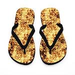 Copper Mosaic Flip Flops