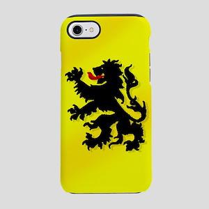 Belgian Lion Flag iPhone 7 Tough Case