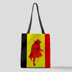 Belgian Red Devils Polyester Tote Bag