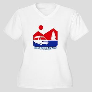 Small House Big Yard RV T-Shirt Plus Size T-Shirt