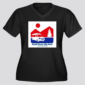 Small House Big Yard RV clothing Plus Size T-Shirt
