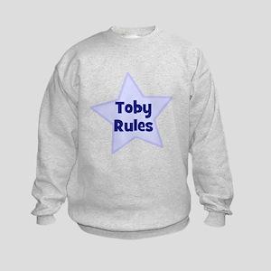 Toby Rules Kids Sweatshirt
