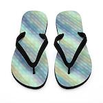 Glimmering Pastel Glass Flip Flops