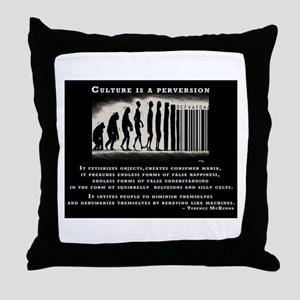 Terence McKenna Throw Pillow