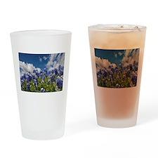 Texas Bluebonnets - 4217 Drinking Glass