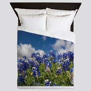 Texas Bluebonnets - 4217 Queen Duvet