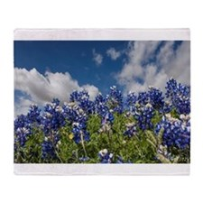 Texas Bluebonnets - 4217 Throw Blanket
