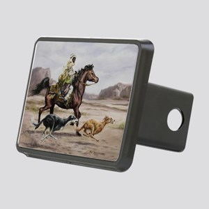 Bedouin Riding with Saluki Hounds Hitch Cover