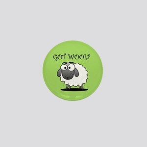 GOT WOOL? Mini Button