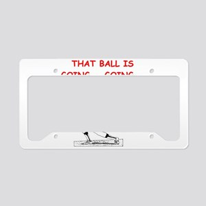BASEBALL1 License Plate Holder