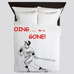 BASEBALL1 Queen Duvet