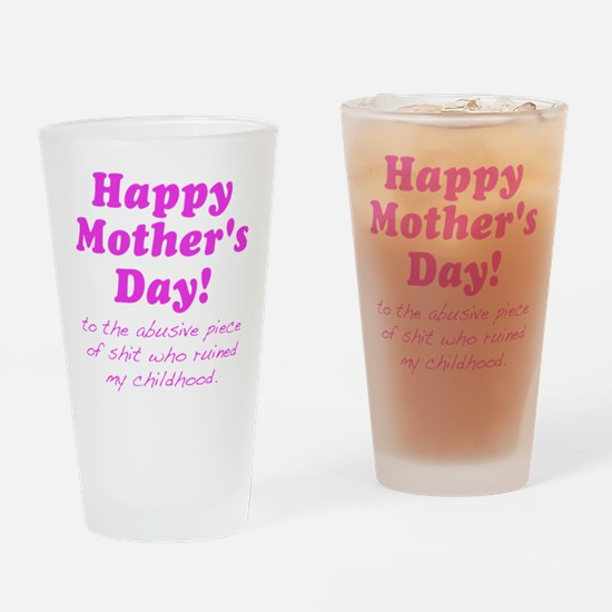 Happy Mothers Day... Drinking Glass