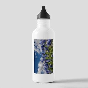 Texas Bluebonnets - 4217v Water Bottle