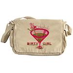 DirtyGirlPinkaholic Messenger Bag