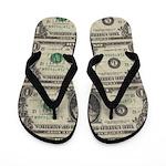 Dollars Flip Flops