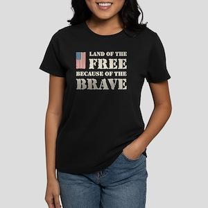 Land of the Free Women's Dark T-Shirt
