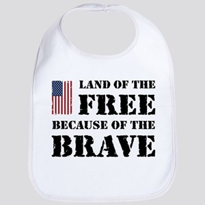 Land of the Free Bib