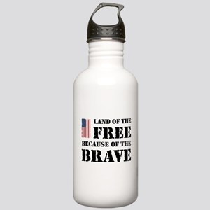 Land of the Free Stainless Water Bottle 1.0L