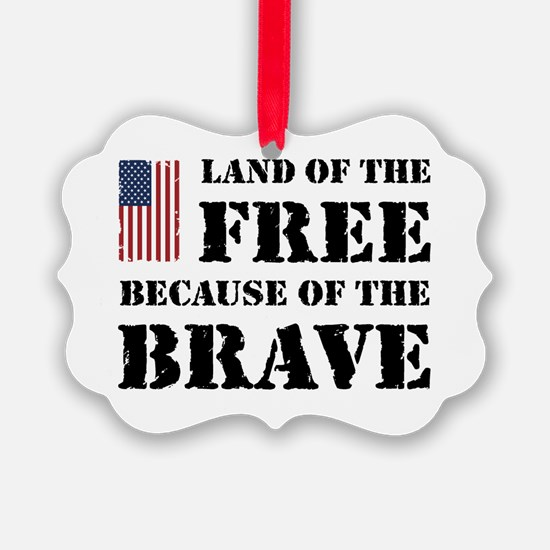 Land of the Free Ornament