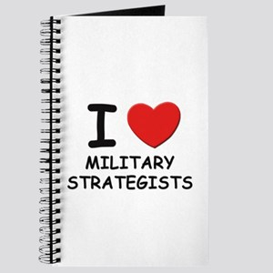 I love military strategists Journal
