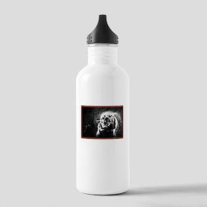 shake off the rain tiger Water Bottle