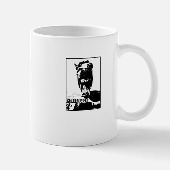 holla back horse Mug