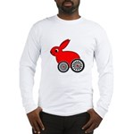 hare-with-wheels.png Long Sleeve T-Shirt