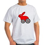 hare-with-wheels.png Light T-Shirt