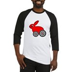 hare-with-wheels.png Baseball Jersey