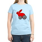 hare-with-wheels.png Women's Light T-Shirt