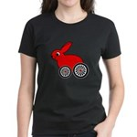 hare-with-wheels Women's Dark T-Shirt