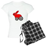 hare-with-wheels Women's Light Pajamas