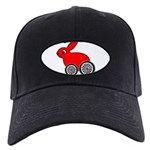 hare-with-wheels Black Cap