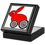 hare-with-wheels Keepsake Box