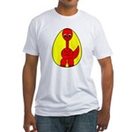 Dino-Saurus - In the Egg Fitted T-Shirt