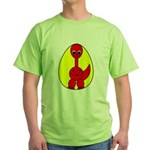 Dino-Saurus - In the Egg Green T-Shirt