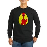 Dino-Saurus - In the Egg Long Sleeve Dark T-Shirt