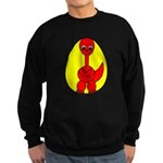 Dino-Saurus - In the Egg Sweatshirt (dark)