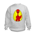 Dino-Saurus - In the Egg Kids Sweatshirt